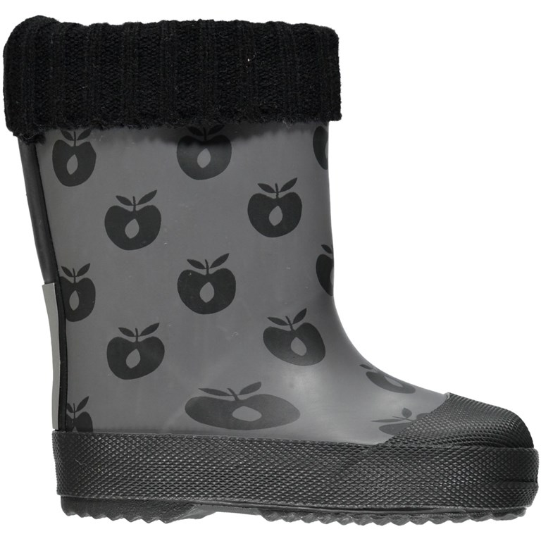 hot sale online a913e 6df74 Baby Winter Gummistiefel mit Äpfel